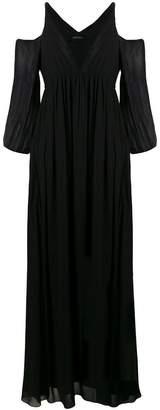 Patrizia Pepe cold shoulder dress