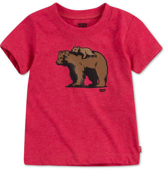 Levi's Daddy & Me Collection Baby Boys Papa Bear & Baby Bear Graphic T-Shirt