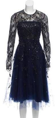 Oscar de la Renta 2016 Embellished Dress