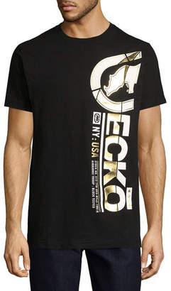 Ecko Unlimited Unltd Mens Crew Neck Short Sleeve Logo Graphic T-Shirt