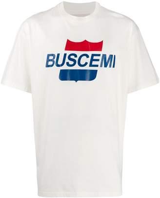 Buscemi retro logo print T-shirt