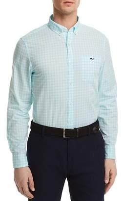 Vineyard Vines Sea Park Gingham Slim Fit Button-Down Shirt