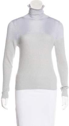 Brunello Cucinelli Cashmere Rib Knit Sweater