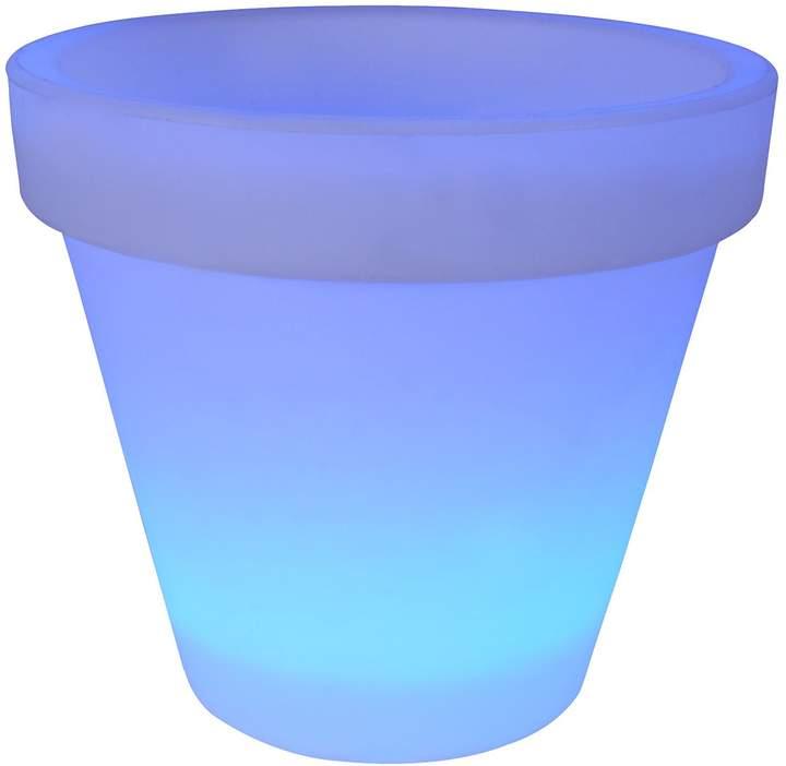 EEK A+, LED-Außen-Pflanzenkübel Ø35cm 20-flammig