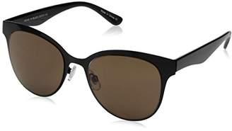 Halston H Women's HH 143 Cat Eye Fashion Designer UV Protection Sunglasses Cateye