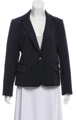 Tory Burch Notch-Lapel One-Button Blazer