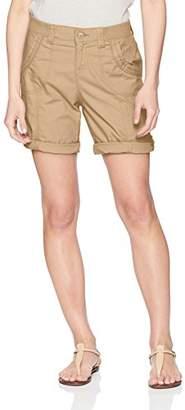 Lee Women's Petite Relaxed Fit Melody Knit Waist Bermuda Short