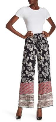 Angie Tassel Drawstring Printed Pants