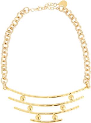 Devon Leigh Bullet & Bar Pendant Necklace