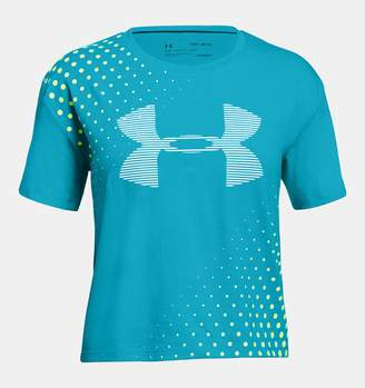 Under Armour Girls' UA Transit Logo T-Shirt