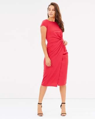 Dorothy Perkins Crepe Manipulated Dress