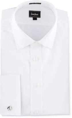 Neiman Marcus Classic-Fit, Tuxedo Shirt, White