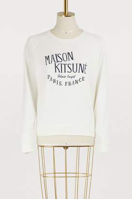 MAISON KITSUNÉ Palais Royal cotton sweatshirt
