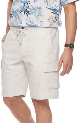 DAY Birger et Mikkelsen Men's Havanera Classic-Fit Elastic-Waist Linen-Blend Cargo Shorts