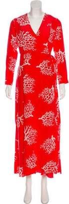 Leone we are Silk Wrap Dress w/ Tags
