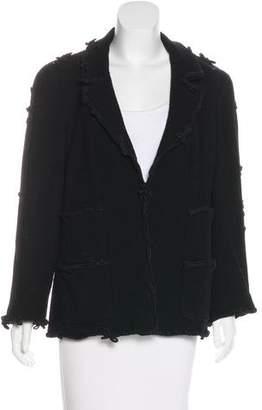 Chanel Wool Notch-Lapel Blazer