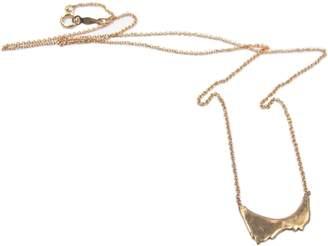 Ralph Lauren Blair Brown Jewelry 14k Gold & Diamond Mount Shasta Pendant Necklace