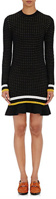 3.1 Phillip Lim Women's Striped Flutter-Hem Sweaterdress $450 thestylecure.com