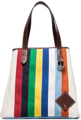 J.W.Anderson multicoloured belt strap canvas tote bag