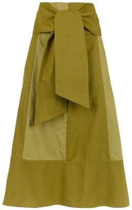 Sissa panelled flared skirt