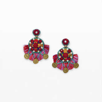 Ranjana Khan Coin Earring