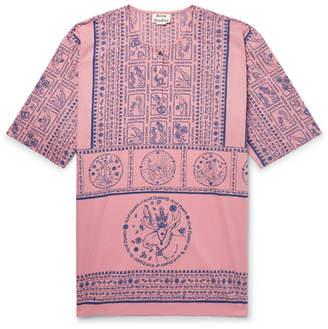 Acne Studios Ringoh Printed Cotton-Voile Shirt