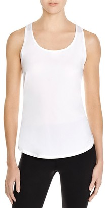 Under Armour Fly By Mesh Trimmed Racerback Tank $34.99 thestylecure.com