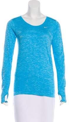 Nike Long Sleeve Athletic Top