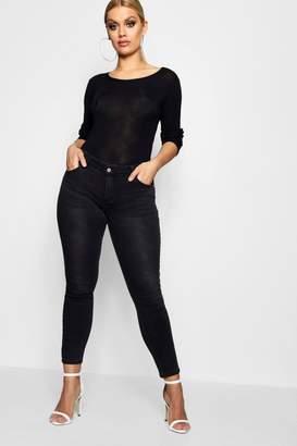 boohoo Plus Skinny Jean