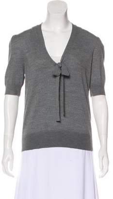 Michael Kors Wool V-Neck Top w/ Tags