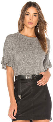 The Great The Ruffle Sleeve Tee