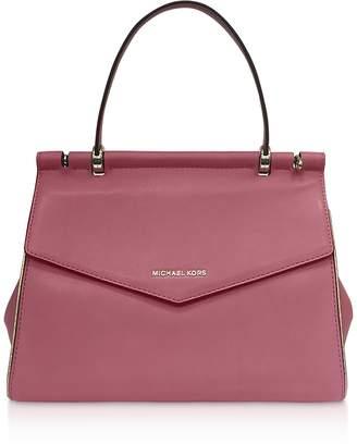 Michael Kors Rose Jasmin Medium Top-Handle Satchel Bag
