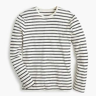 J.Crew Mercantile Broken-in long-sleeve T-shirt in deck stripe