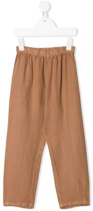 Il Gufo plain linen trousers