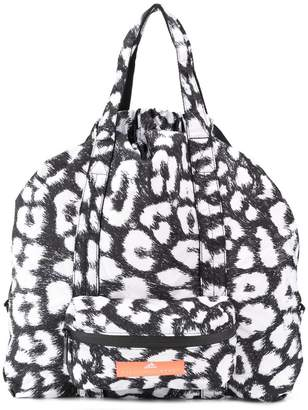 d1354b6a2b9f adidas by Stella McCartney leopard print gym bag