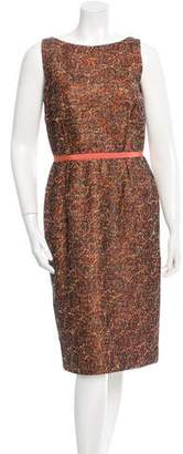 Peter Som Lace Sleeveless Dress
