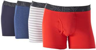 Jockey Men's 4-pack ActiveBlend Boxer Briefs