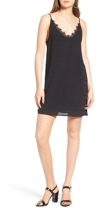 Women's Bp. Textured Stripe Slipdress $49 thestylecure.com