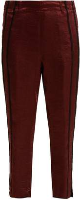 Ann Demeulemeester Lambeth satin trousers