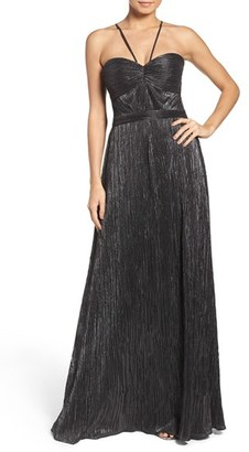 Laundry by Shelli Segal Metallic Gown $295 thestylecure.com