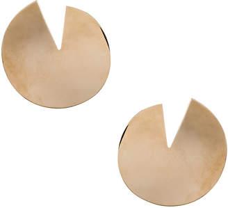Valentino Logo Circle Earrings
