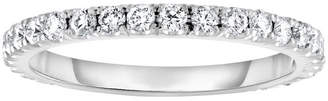 Neiman Marcus Diamonds 18k Diamond Band Ring, 0.5tcw, Size 6