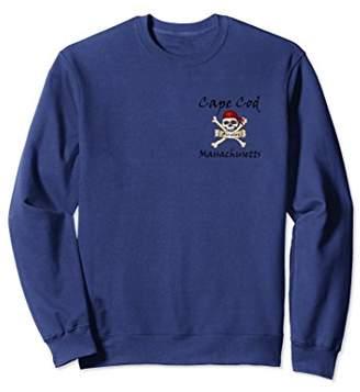 Cape Cod Pirate Skull & Bones Sweatshirt