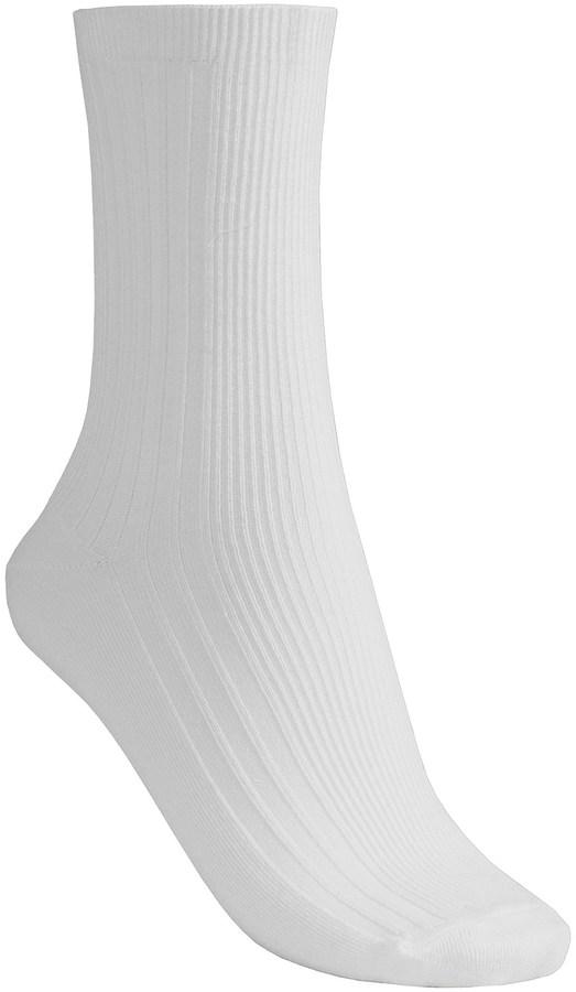 B.ella Fine Rib Socks - Pima Cotton, Crew (For Women)