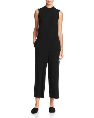 Eileen Fisher Sleeveless Cropped Jumpsuit $238 thestylecure.com