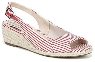 LifeStride Socialite Stripe Espadrille Sandal - Wide Width Available