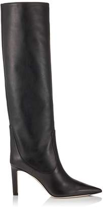 Jimmy Choo Mavis 85 Leather Boots