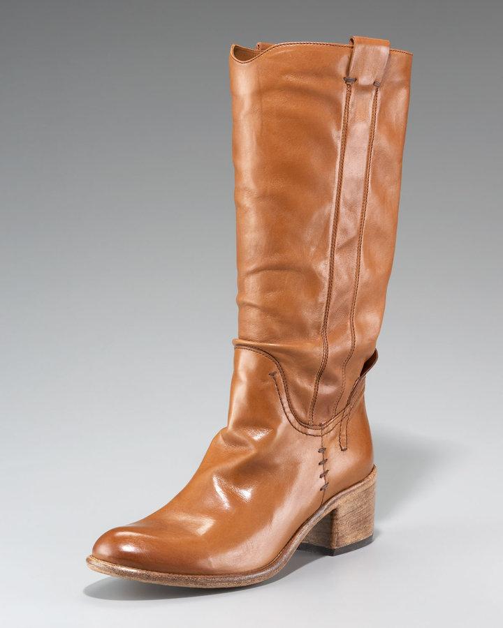 Alberto Fermani Soft Leather Knee Boot