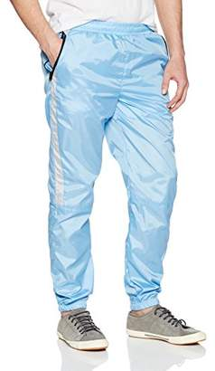 Southpole Men's Colorblock Athletic Wind Pants