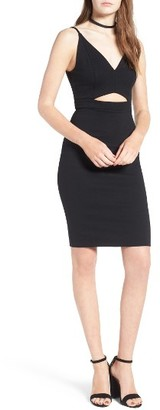 Women's Soprano Cutout Body-Con Dress $45 thestylecure.com